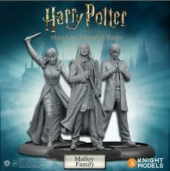 Harry Potter Miniatures Game: Malfoy Family Pack (On Sale)