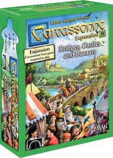 Carcassonne: Expansion 8 - Bridges, Castles & Bazaars