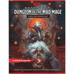 Dungeons & Dragons RPG: Waterdeep - Dungeon of the Mad Mage Maps & Miscellany