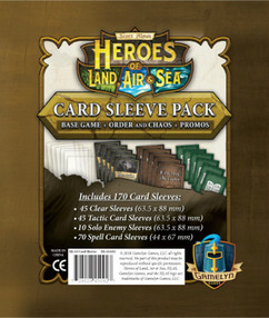 Heroes of Land, Air and Sea: Card Sleeve Pack