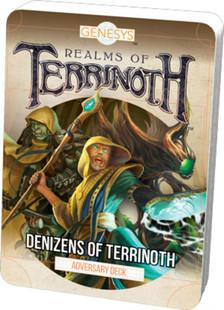 Genesys RPG: Realms of Terrinoth - Denizens of Terrinoth Adversary Deck