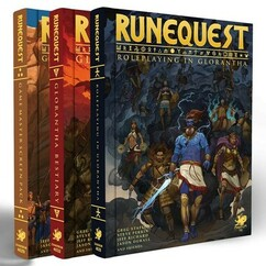 RuneQuest RPG: Roleplaying in Glorantha - Deluxe Slipcase Set