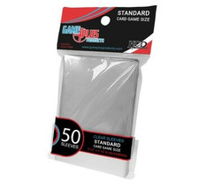 Standard Card Game Size Sleeves - Clear (50ct)