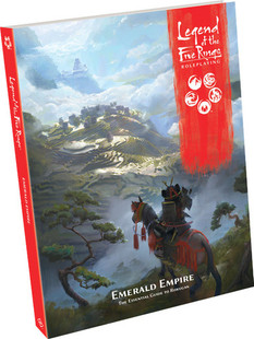 Legend of the Five Rings RPG: Emerald Empire (Hardcover)