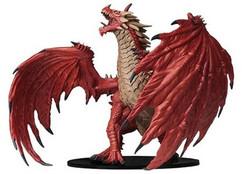 Pathfinder Battles: Deep Cuts Unpainted Miniatures - Gargantuan Red Dragon