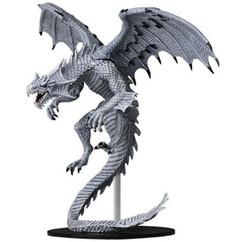 Pathfinder Battles: Deep Cuts Unpainted Miniatures - Gargantuan White Dragon