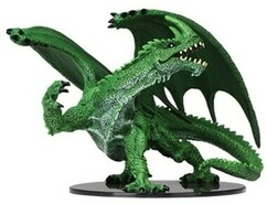 Pathfinder Battles: Deep Cuts Unpainted Miniatures - Gargantuan Green Dragon
