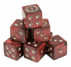 Middle-Earth: Strategy Battle Game - The Lord of the Rings - Mordor Dice Set