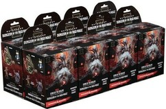 Dungeons & Dragons Miniatures: Icons of the Realms - Waterdeep Dungeon of the Mad Mage Booster Brick (8)