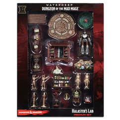 Dungeons & Dragons Miniatures:  Waterdeep - Dungeon of the Mad Mage - Halaster's Lab Case Incentive