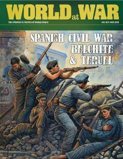 Strategy & Tactics: #62 World at War - Spanish Civil War - Belchite & Teruel