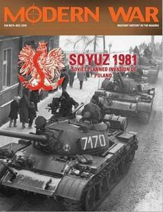 Modern War: #38 Game Edition - Soyuz '81