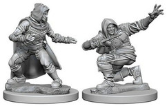 Pathfinder Battles Deep Cuts Unpainted Miniatures: Human Male Rogues