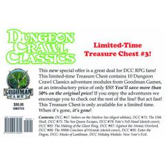 Dungeon Crawl Classics RPG: Treasure Chest #3