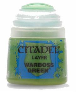 Citadel Layer Paint: Warboss Green (12ml)