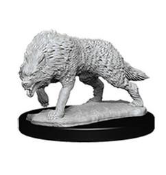 Wizkids Deep Cuts Unpainted Miniatures: Timber Wolves