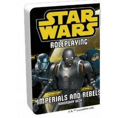 Star Wars RPG: Adversary Deck - Imperials & Rebels III Deck