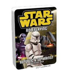Star Wars RPG: Adversary Deck - Republic & Separatist
