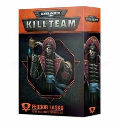 Warhammer 40K Kill Team: Feodor Lasko - Astra Militarum Commander Set