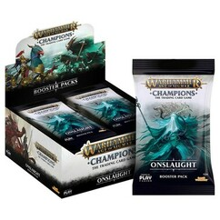 Warhammer TCG: Age of Sigmar - Champions Onslaught Booster Box (On Sale)