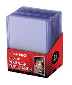 "Ultra Pro Toploaders: 3"" X 4"" Clear Regular (25ct)"
