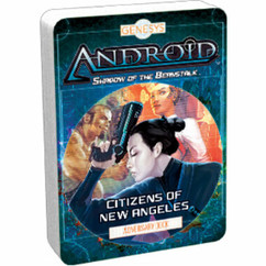 Genesys RPG: Citizens of New Angeles - Adversary Deck
