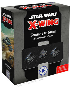 Star Wars X-Wing 2nd Edition: Servants of Strife Squadron Pack