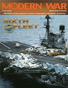 Modern War: #41 Game Edition - Sixth Fleet