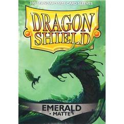 Dragon Shield: Matte Emerald Card Sleeves (100ct)