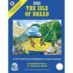 Dungeons & Dragons RPG: Original Adventures Reincarnated #2 - The Isle of Dread (Hardcover)