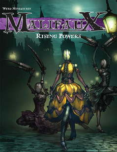 Malifaux: Expansion Rulebook Rising Powers (Ding & Dent)