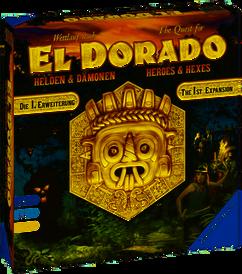 The Quest for El Dorado: Heroes & Hexes Expansion