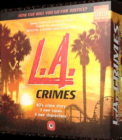 Detective: A Modern Crime Board Game - L.A. Crimes Expansion