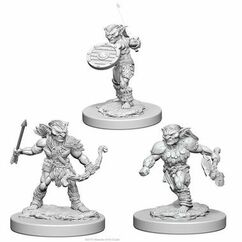 Dungeons & Dragons: Nolzur's Marvelous Unpainted Miniatures - Goblins