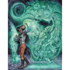 Dungeon Crawl Classics RPG: Shanna Dahaka - Limited Edition Cover