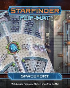 Starfinder RPG: Flip-Mat - Spaceport