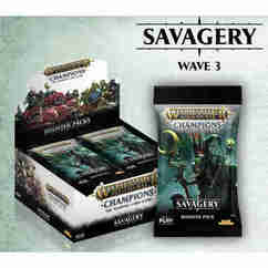Warhammer TCG: Age of Sigmar - Champions Savagery Booster Box