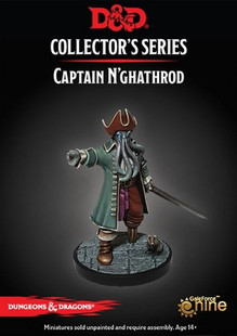 Dungeons & Dragons Miniatures: Collector's Series - Captain N'ghathrod