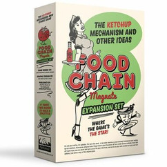 Food Chain Magnate: The Ketchup Mechanism & Other Ideas Expansion Set
