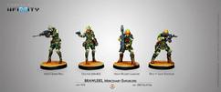 Infinity: NA2 - Brawlers, Mercenary Enforcers