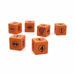 Tales From the Loop RPG: D6 Dice Set (10ct)