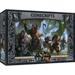 A Song of Ice & Fire Miniatures Game: Night's Watch - Conscripts