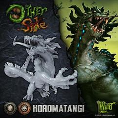 The Other Side: Cult of the Burning Man/Gibbering Hordes - Horomatangi
