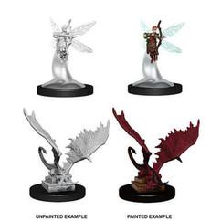 Dungeons & Dragons: Nolzur's Marvelous Unpainted Miniatures: Sprite & Pseudodragon
