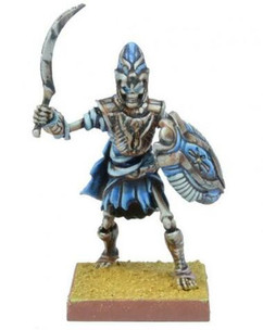 Kings of War 2nd Edition: Empire Of Dust - Revenant Champion/Army Standard Bearer
