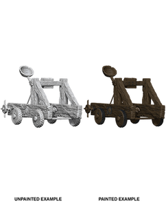 Wizkids Deep Cuts Unpainted Miniatures: Catapult