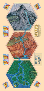 The Settlers of Catan: The Great River Expansion