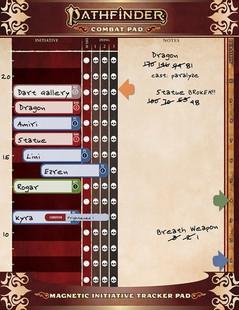 Pathfinder RPG 2nd Edition: Combat Pad