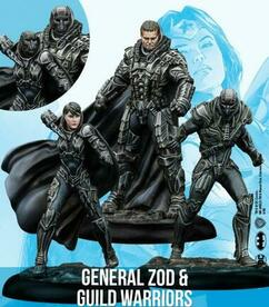 DC Universe Miniature Game: General Zod & Guild Warriors (Resin)