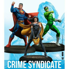 DC Universe Miniature Game: Crime Syndicate (Resin)